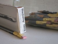 "Rachel Kotkin's ""Blackwing 602 Stash"" detail"