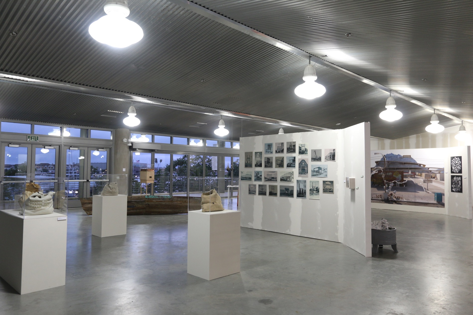the exhibition filled 13,000 square feet of space in total